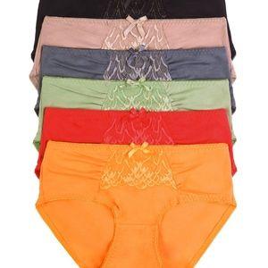 12 PAIRS   Mamia Cotton Bikini Panty - LP1401CKE2